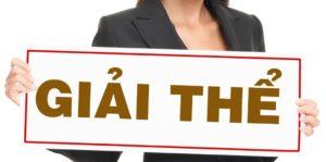 Hồ sơ giải thể doanh nghiệp hợp lệ theo quy định pháp luật